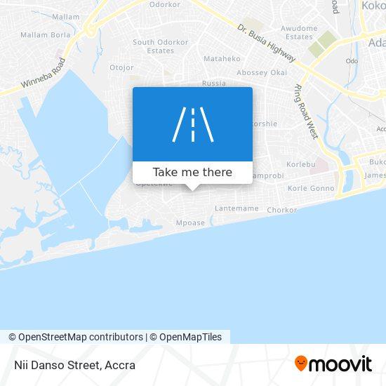 Nii Danso Street map