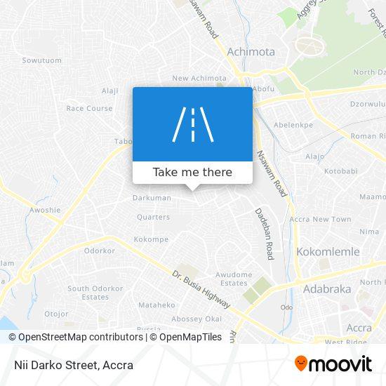 Nii Darko Street map