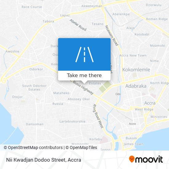 Nii Kwadjan Dodoo Street map