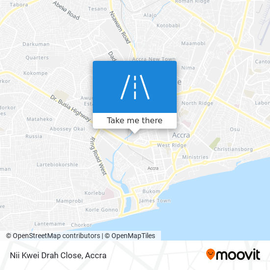 Nii Kwei Drah Close map
