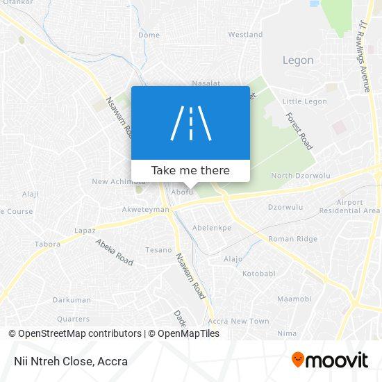 Nii Ntreh Close map