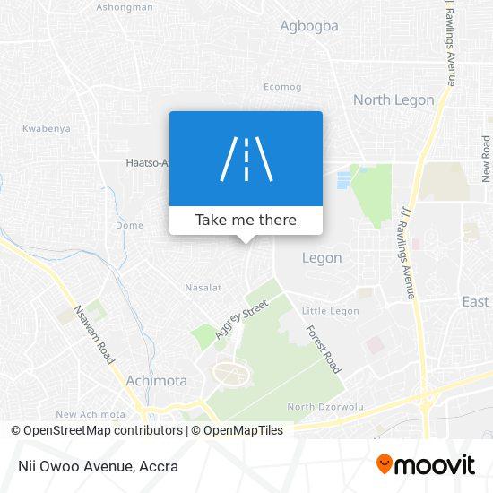 Nii Owoo Avenue map