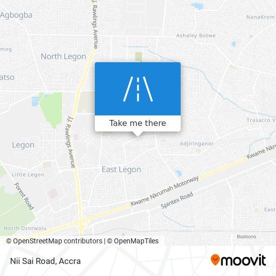Nii Sai Road map