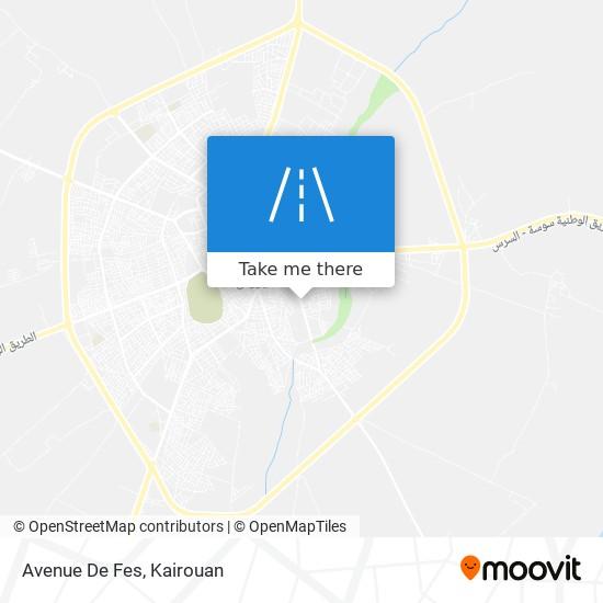Avenue De Fes plan