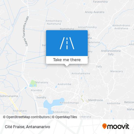 Cité Fraise map