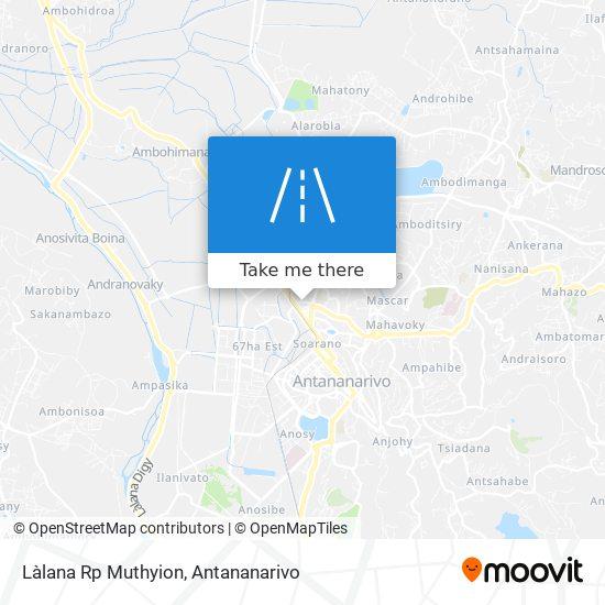 Làlana Rp Muthyion map