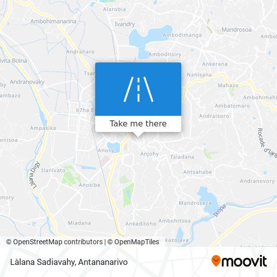 Làlana Sadiavahy map
