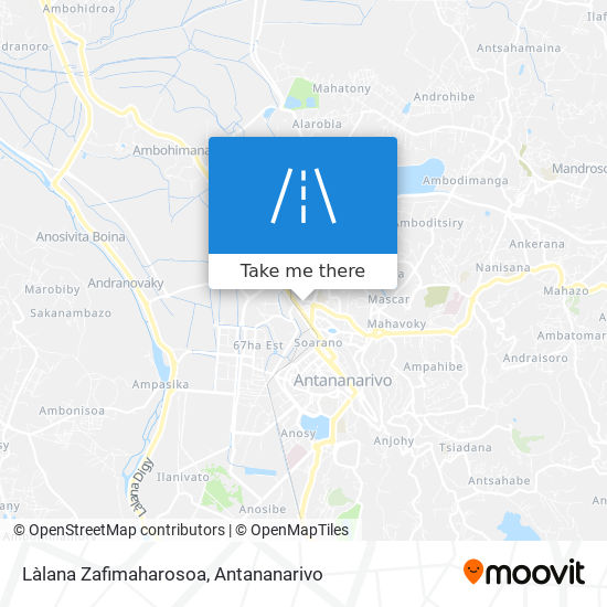 Làlana Zafimaharosoa map