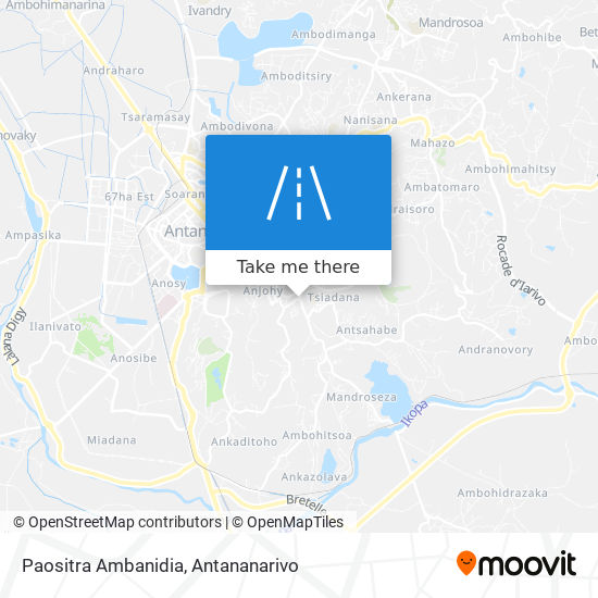 Paositra Ambanidia map