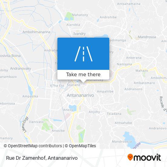 Rue Dr Zamenhof map