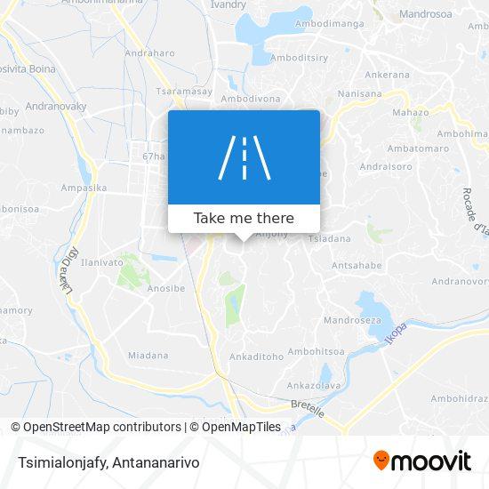 Tsimialonjafy map