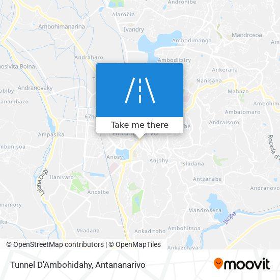 Tunnel D'Ambohidahy map