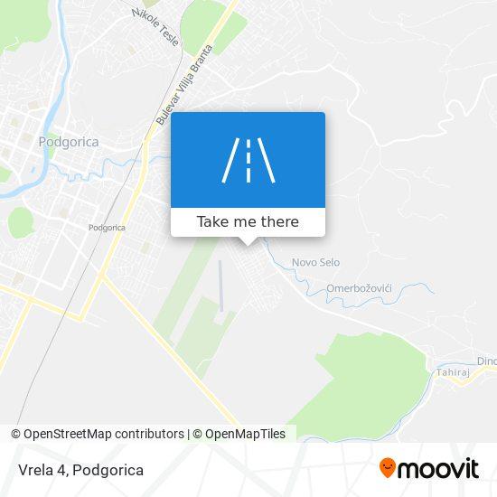 Vrela 4 map