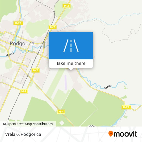 Vrela 6 map