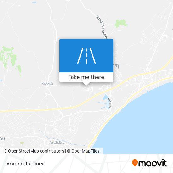 Vomon χάρτης