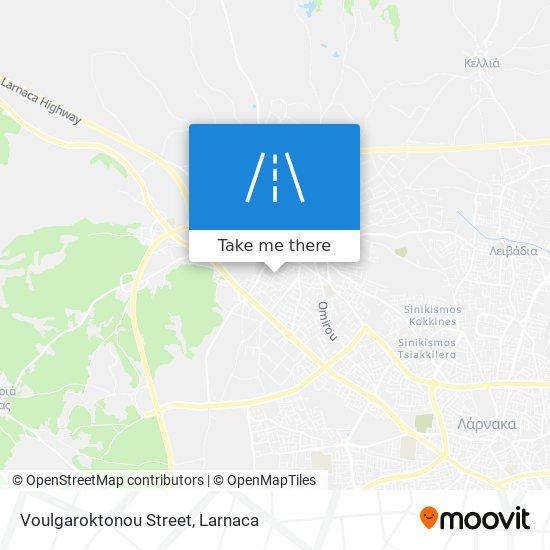 Voulgaroktonou Street χάρτης
