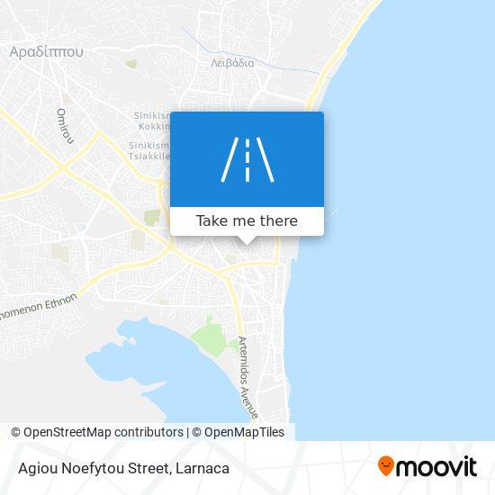 Agiou Noefytou Street χάρτης