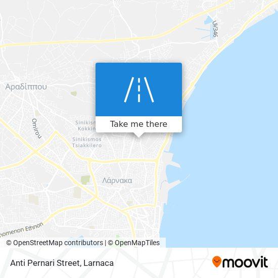 Anti Pernari Street χάρτης