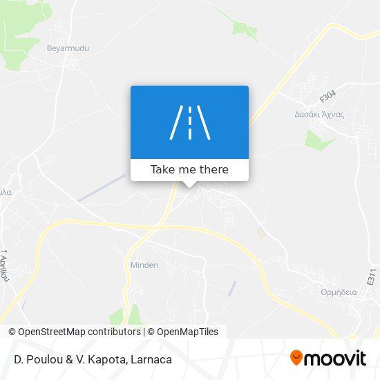 D. Poulou & V. Kapota χάρτης