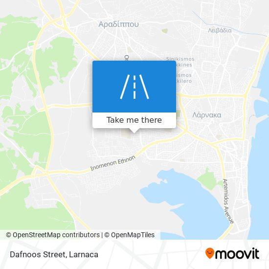 Dafnoos Street χάρτης