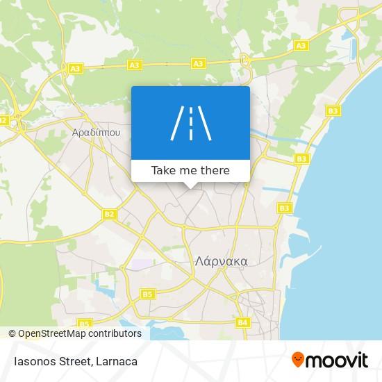 Iasonos Street χάρτης