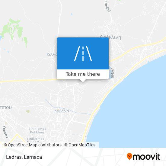 Ledras χάρτης