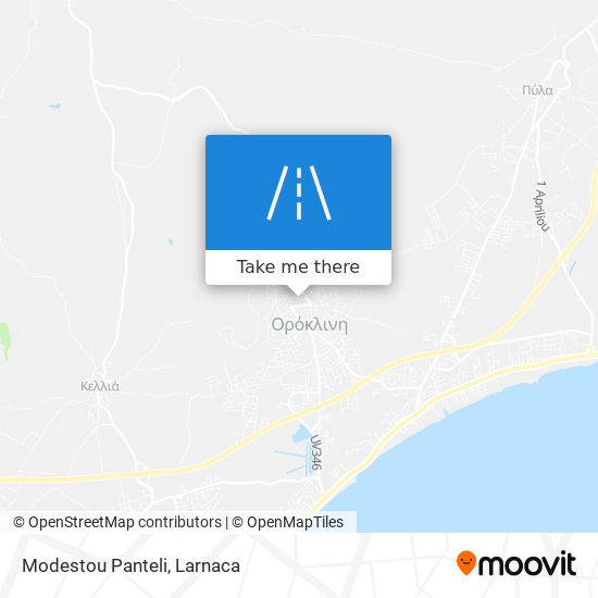 Modestou Panteli χάρτης