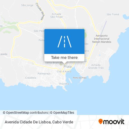 Avenida Cidade De Lisboa mapa