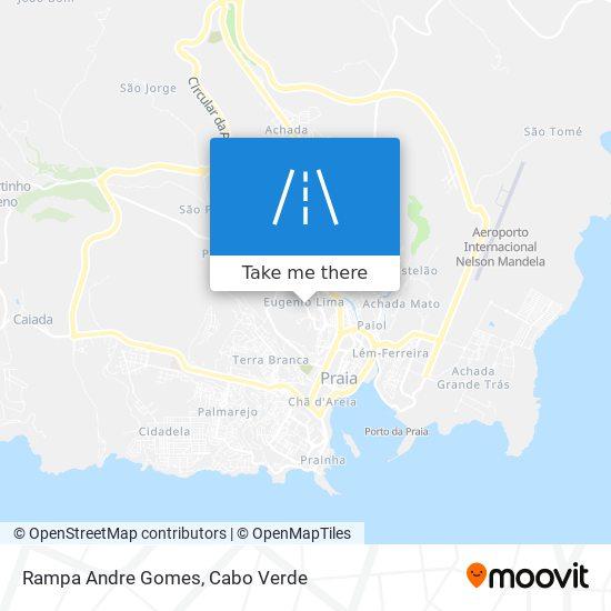 Rampa Andre Gomes mapa