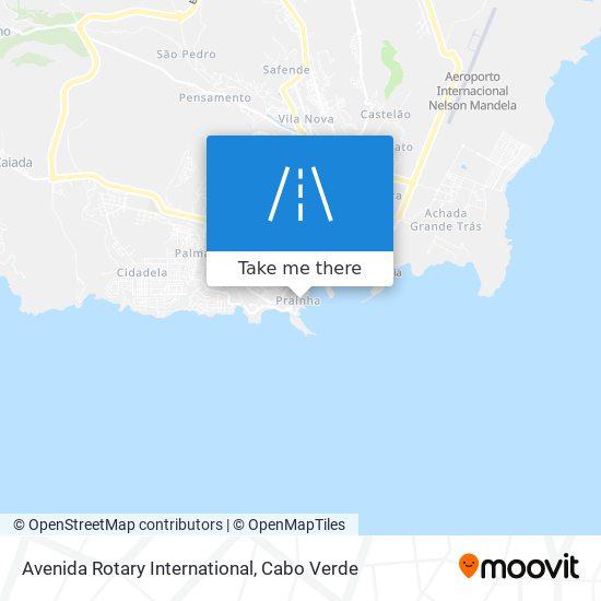 Avenida Rotary International mapa