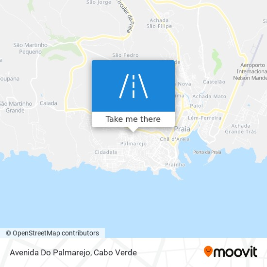Avenida Do Palmarejo mapa