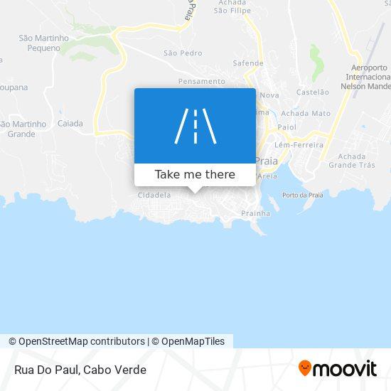 Rua Do Paul mapa