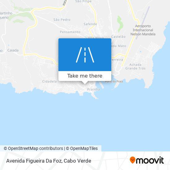 Avenida Figueira Da Foz mapa