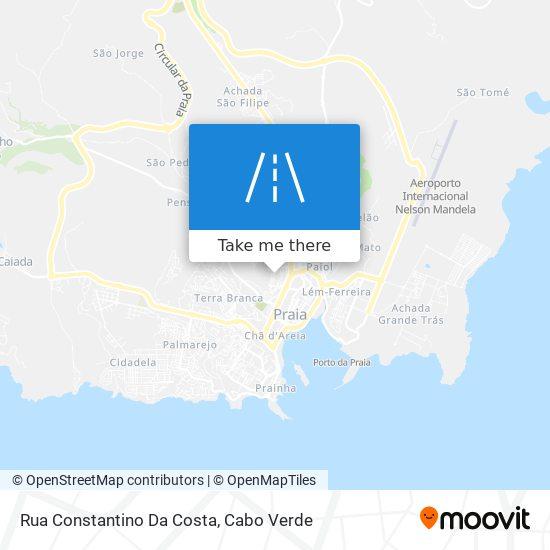 Rua Constantino Da Costa mapa
