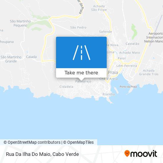 Rua Da Ilha Do Maio mapa