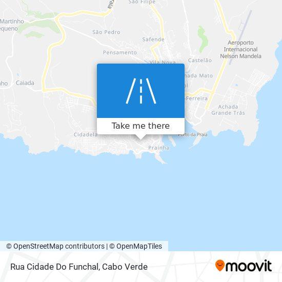 Rua Cidade Do Funchal mapa