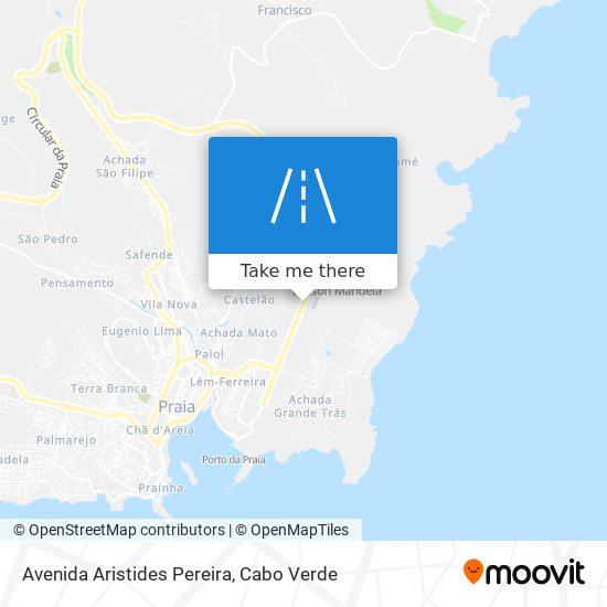 Avenida Aristides Pereira mapa