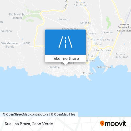 Rua Ilha Brava mapa