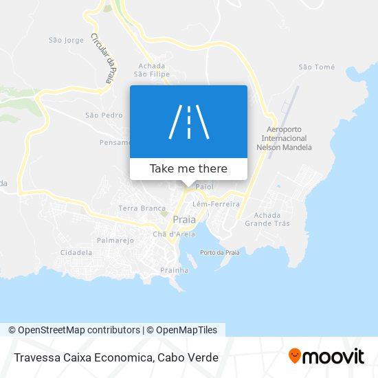 Travessa Caixa Economica mapa