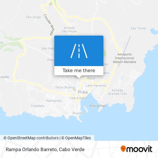 Rampa Orlando Barreto mapa