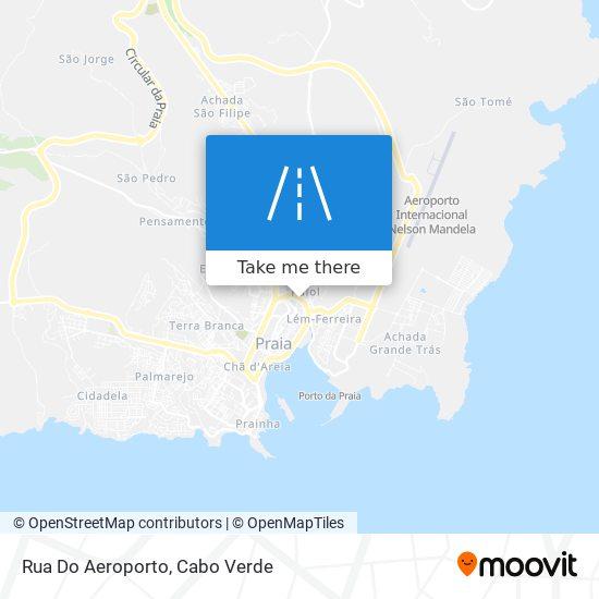 Rua Do Aeroporto mapa