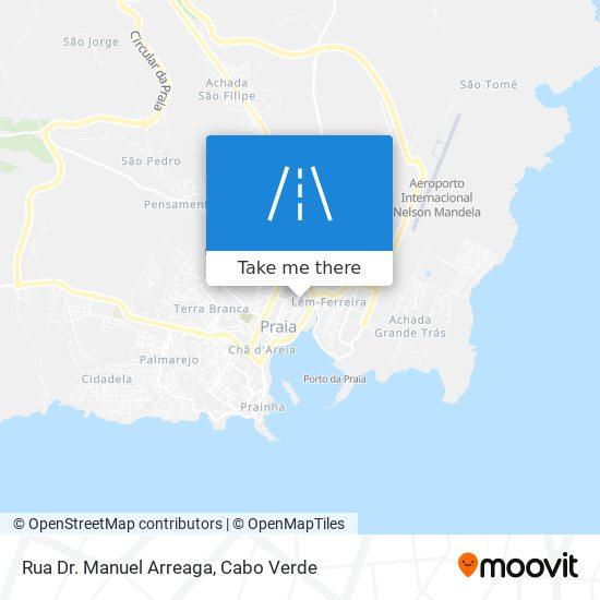 Rua Dr. Manuel Arreaga mapa
