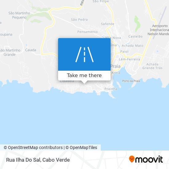Rua Ilha Do Sal mapa