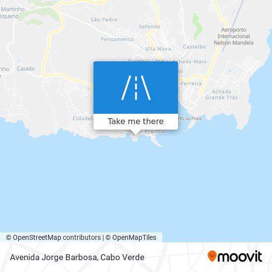 Avenida Jorge Barbosa mapa