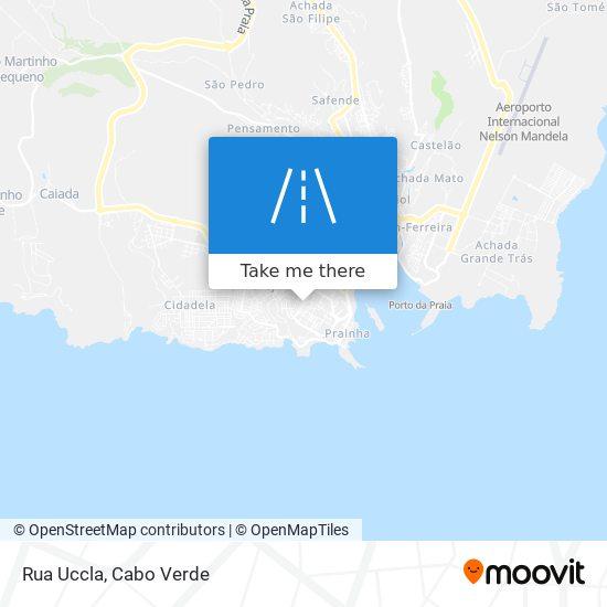 Rua Uccla mapa