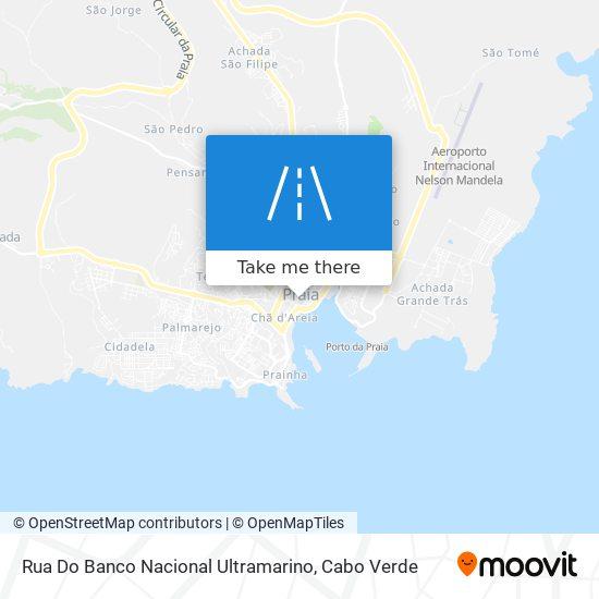 Rua Do Banco Nacional Ultramarino mapa