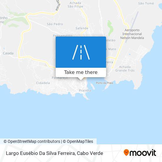 Largo Eusébio Da Silva Ferreira mapa