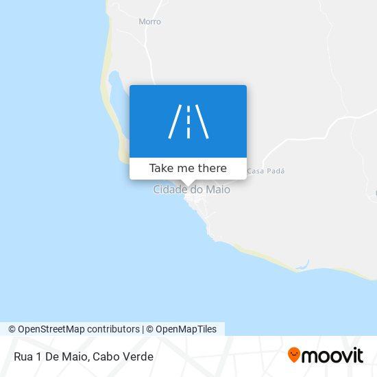 Rua 1 De Maio mapa