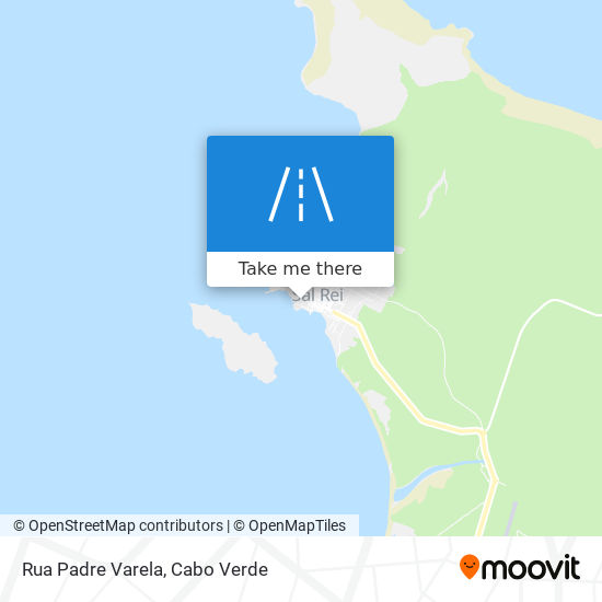 Rua Padre Varela mapa