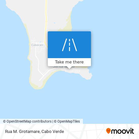 Rua M. Grotamare mapa